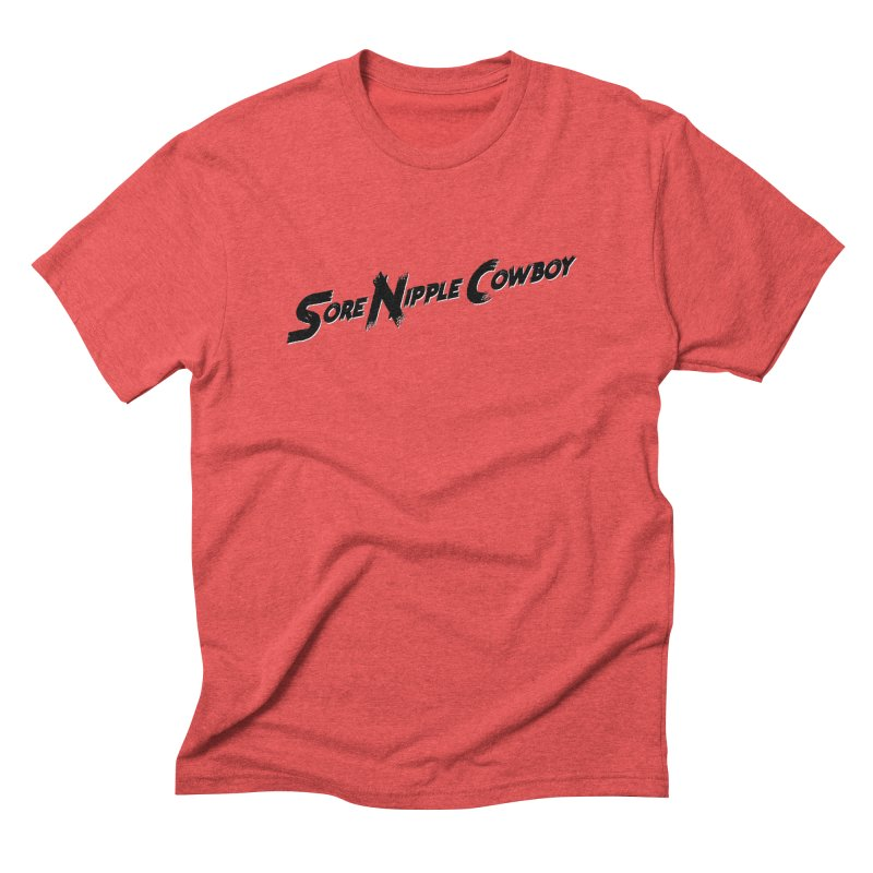 Sore Nipple Cowboy Men's Triblend T-Shirt by Slap Happy Ultd Emporium