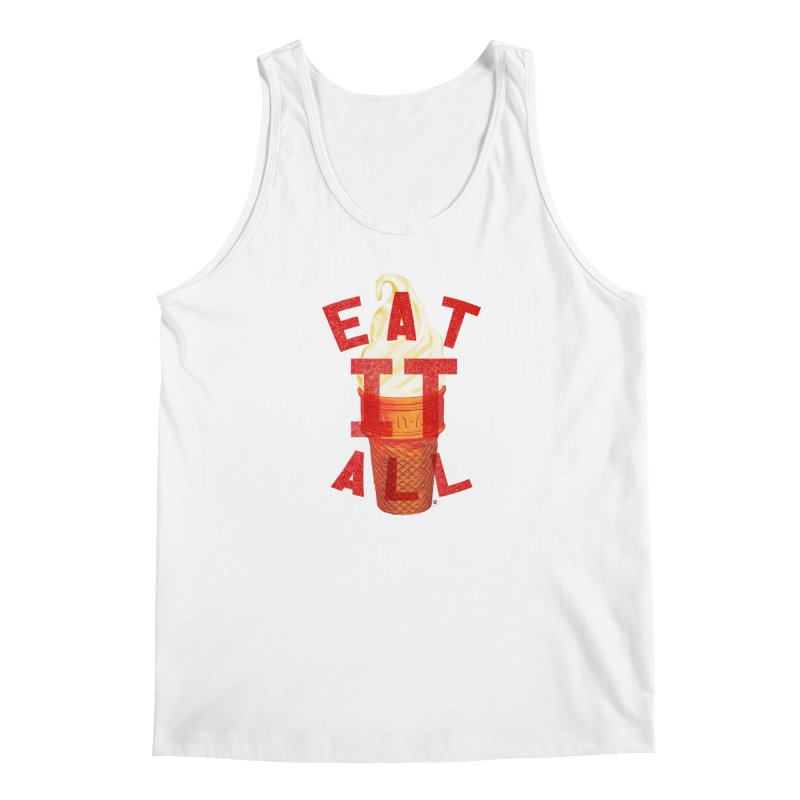 EAT IT ALL v2 dudes Tank by shuSHOP