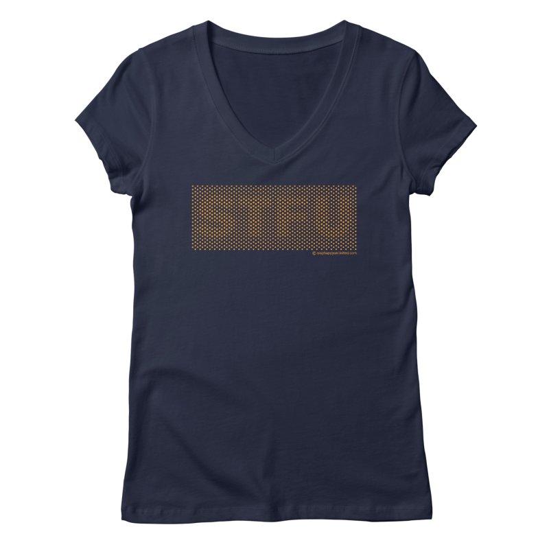 STFU v2 Women's Regular V-Neck by Slap Happy Ultd Emporium