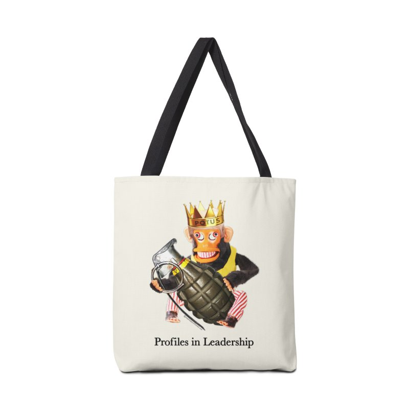 Profiles in Leadership Accessories Tote Bag Bag by Slap Happy Ultd Emporium
