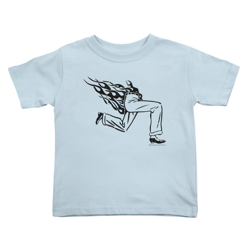 LYING LIARS LIE v1 Kids Toddler T-Shirt by Slap Happy Ultd Emporium
