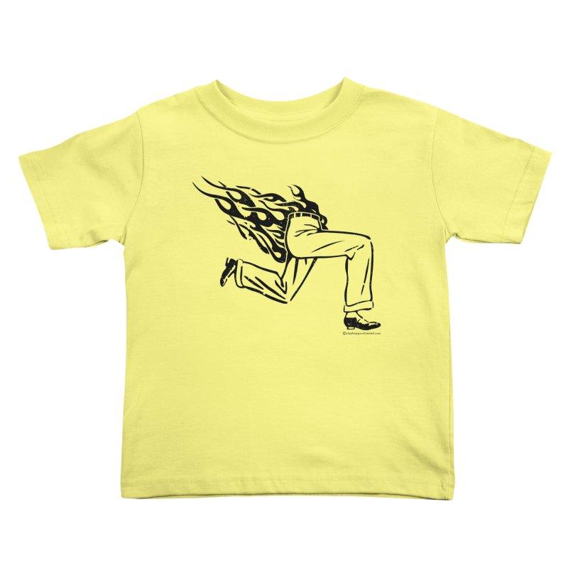 LYING LIARS LIE v1 Kids Toddler T-Shirt by Slap Happy Ultd Emporium