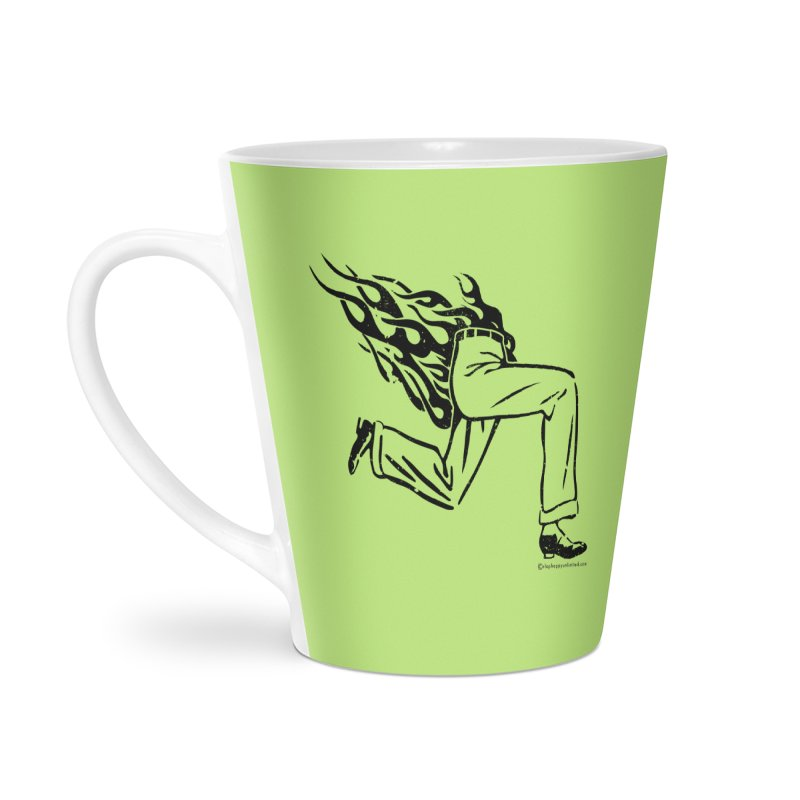 LYING LIARS LIE v1 Accessories Latte Mug by Slap Happy Ultd Emporium