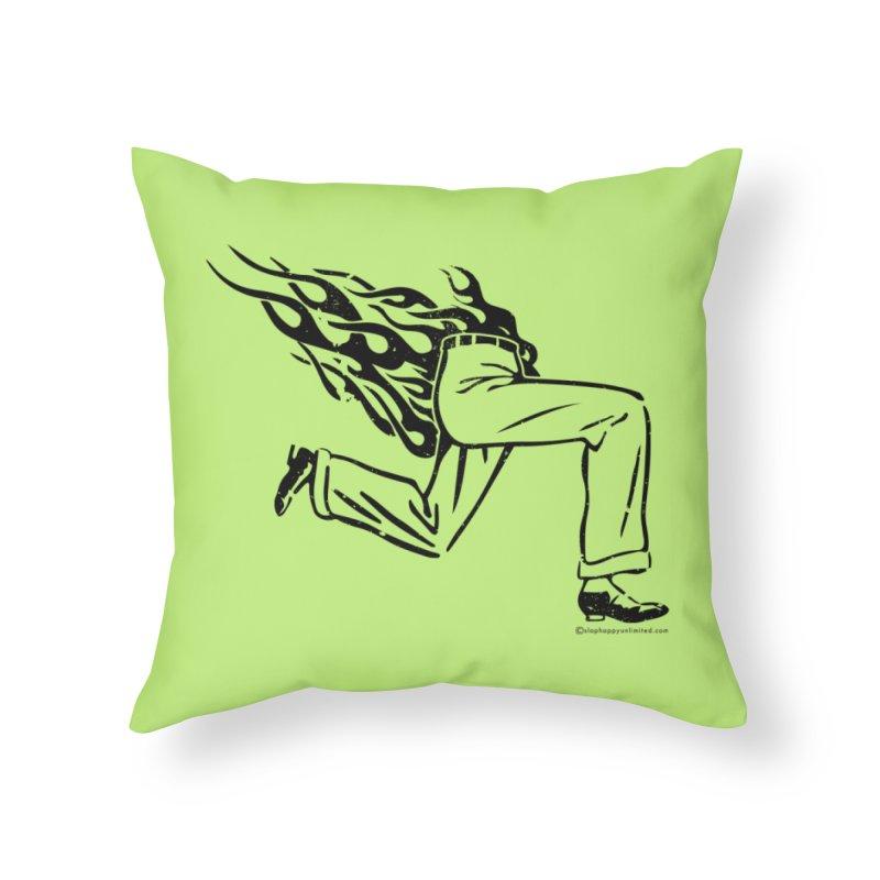 LYING LIARS LIE v1 Home Throw Pillow by Slap Happy Ultd Emporium