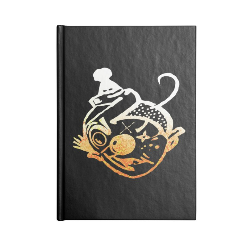 SHU too Accessories Blank Journal Notebook by Slap Happy Ultd Emporium