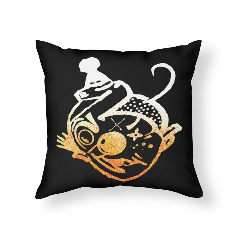 SHU too Home Throw Pillow by Slap Happy Ultd Emporium