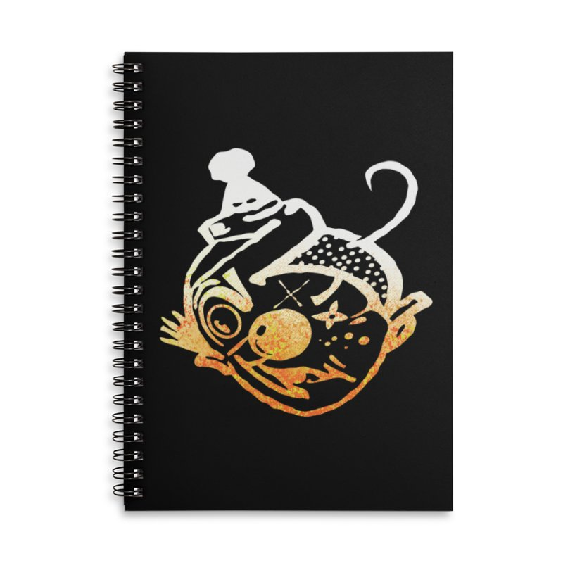 SHU too Accessories Lined Spiral Notebook by Slap Happy Ultd Emporium