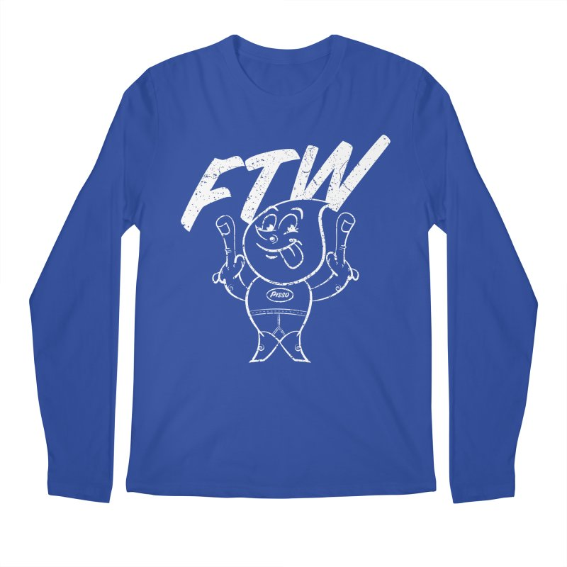 FTW Men's Regular Longsleeve T-Shirt by Slap Happy Ultd Emporium