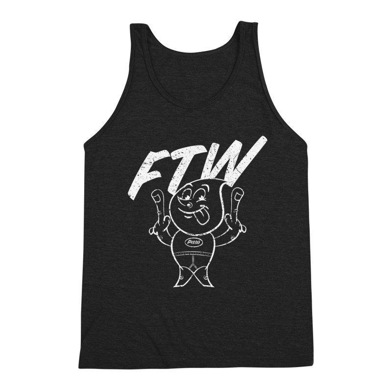 FTW Men's Triblend Tank by Slap Happy Ultd Emporium