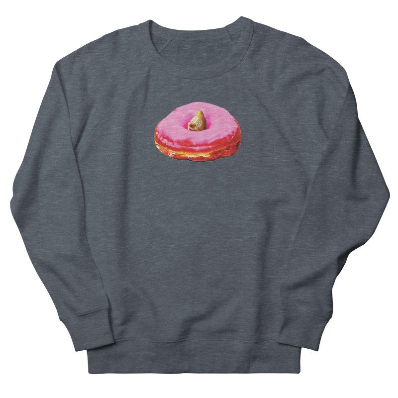Eat Pink! Women's French Terry Sweatshirt by Slap Happy Ultd Emporium