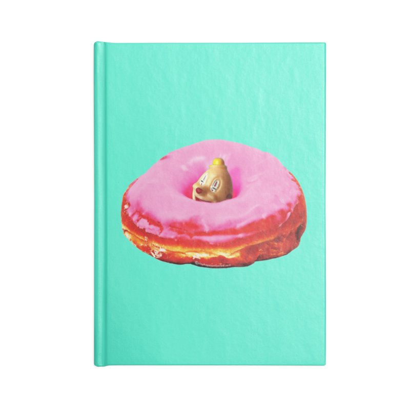 Eat Pink! Accessories Blank Journal Notebook by Slap Happy Ultd Emporium