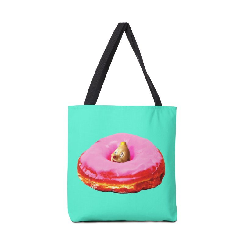 Eat Pink! Accessories Tote Bag Bag by Slap Happy Ultd Emporium