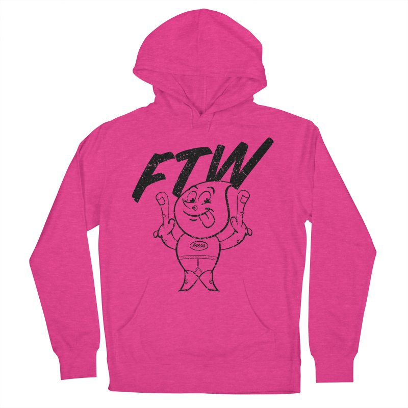 FTW Reducere Women's French Terry Pullover Hoody by Slap Happy Ultd Emporium