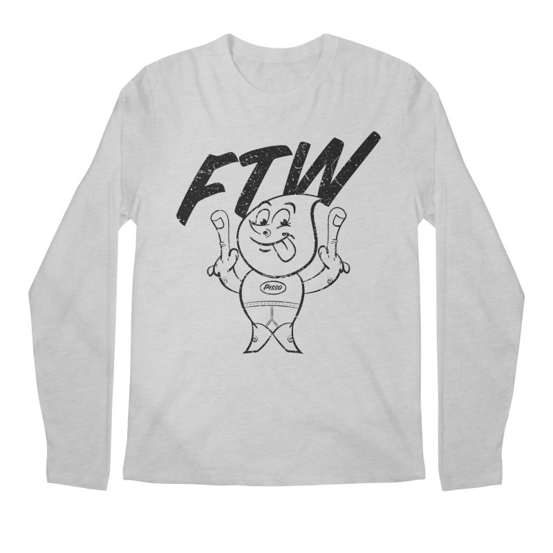 FTW Reducere Men's Regular Longsleeve T-Shirt by Slap Happy Ultd Emporium