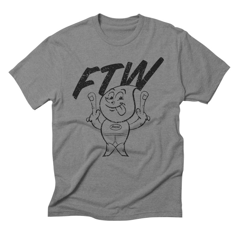 FTW Reducere Men's Triblend T-Shirt by Slap Happy Ultd Emporium