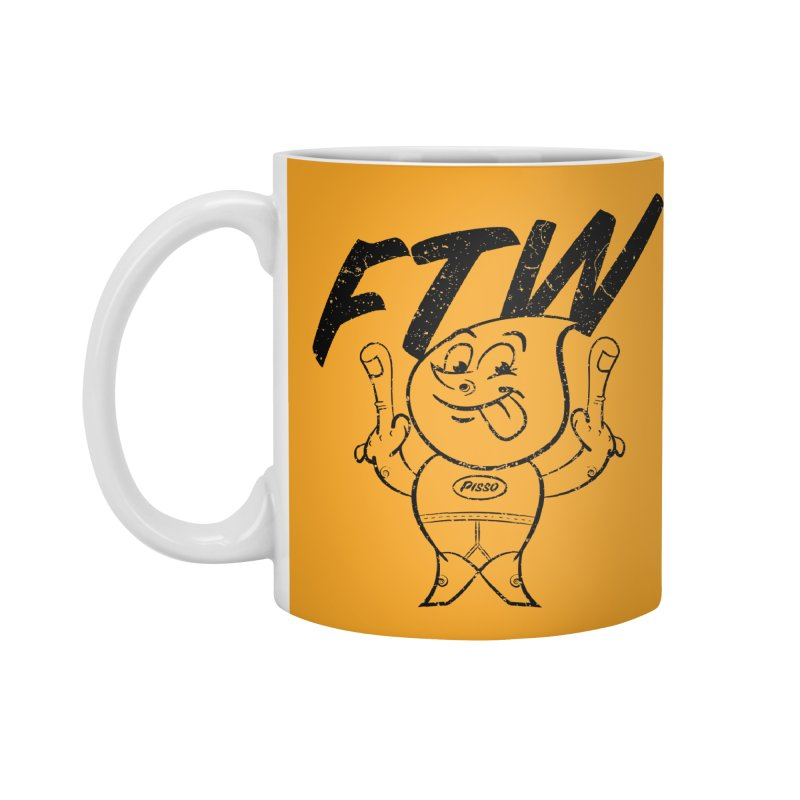 FTW Reducere Accessories Standard Mug by Slap Happy Ultd Emporium