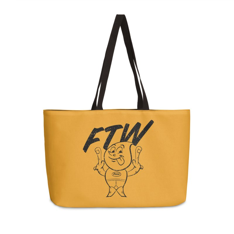 FTW Reducere Accessories Weekender Bag Bag by Slap Happy Ultd Emporium