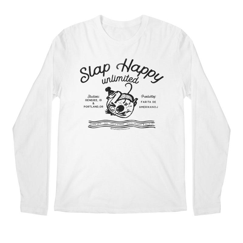 SHU Esparonto Men's Regular Longsleeve T-Shirt by Slap Happy Ultd Emporium