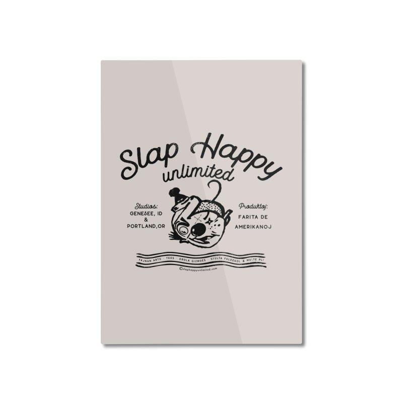 SHU Esparonto Home Mounted Aluminum Print by shu SHOP