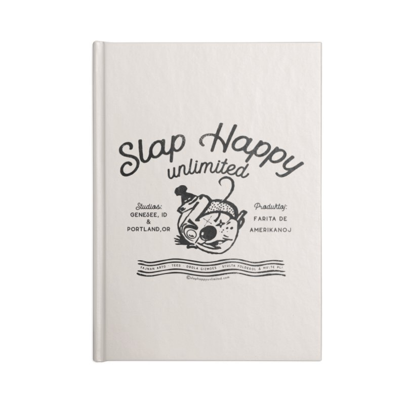 SHU Esparonto Accessories Blank Journal Notebook by Slap Happy Ultd Emporium