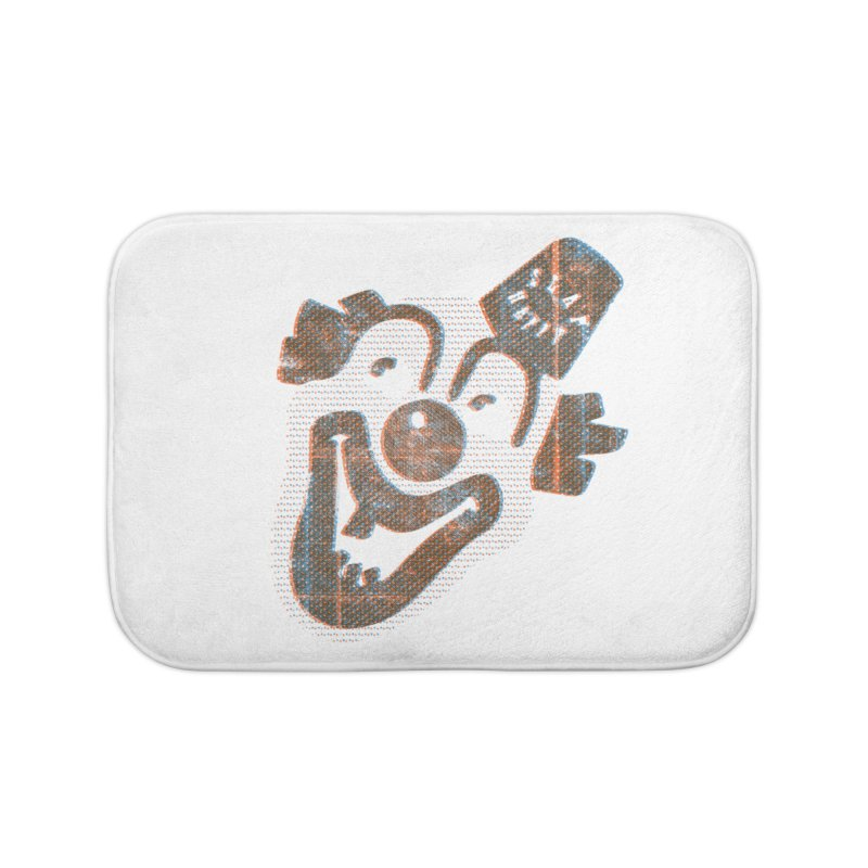 Hyuk Hyuk Hyuk Home Bath Mat by Slap Happy Ultd Emporium