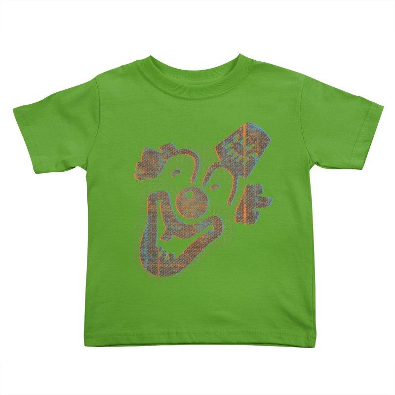 Hyuk Hyuk Hyuk Kids Toddler T-Shirt by Slap Happy Ultd Emporium