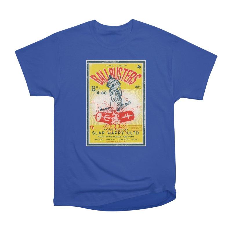 Ball Busters! Men's Heavyweight T-Shirt by Slap Happy Ultd Emporium
