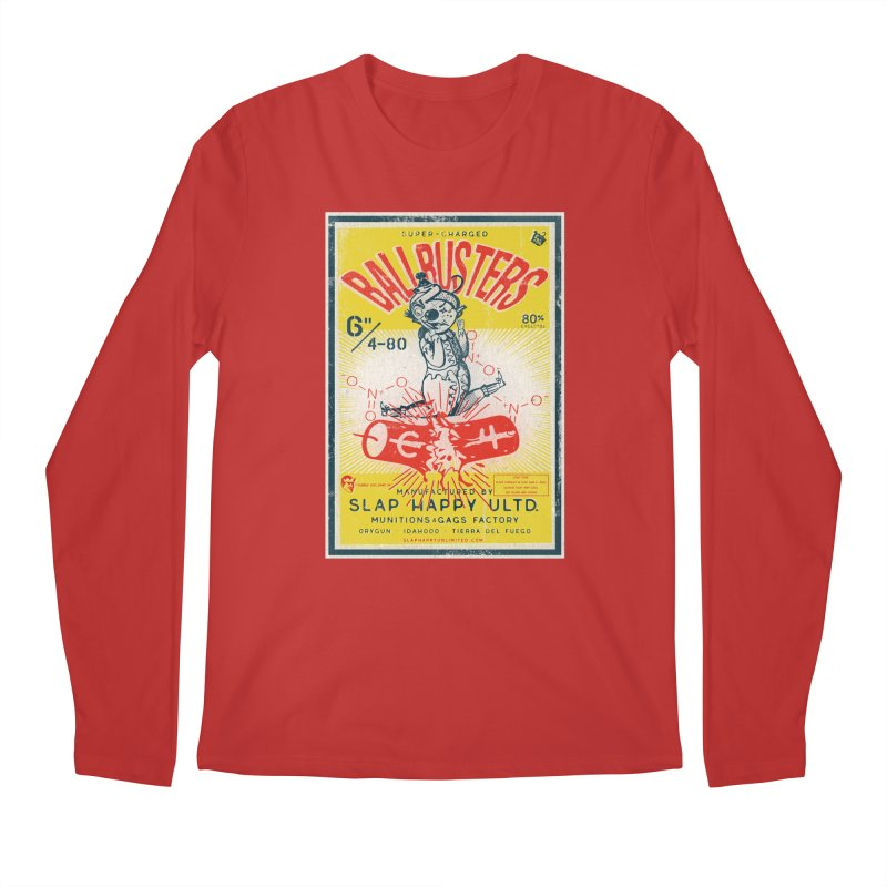 Ball Busters! Men's Regular Longsleeve T-Shirt by Slap Happy Ultd Emporium