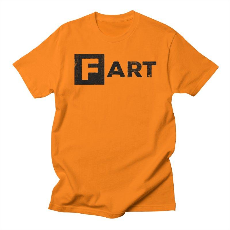 F  ART Women's Regular Unisex T-Shirt by Slap Happy Ultd Emporium
