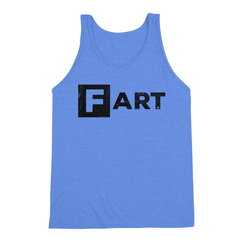 F  ART Men's Triblend Tank by Slap Happy Ultd Emporium