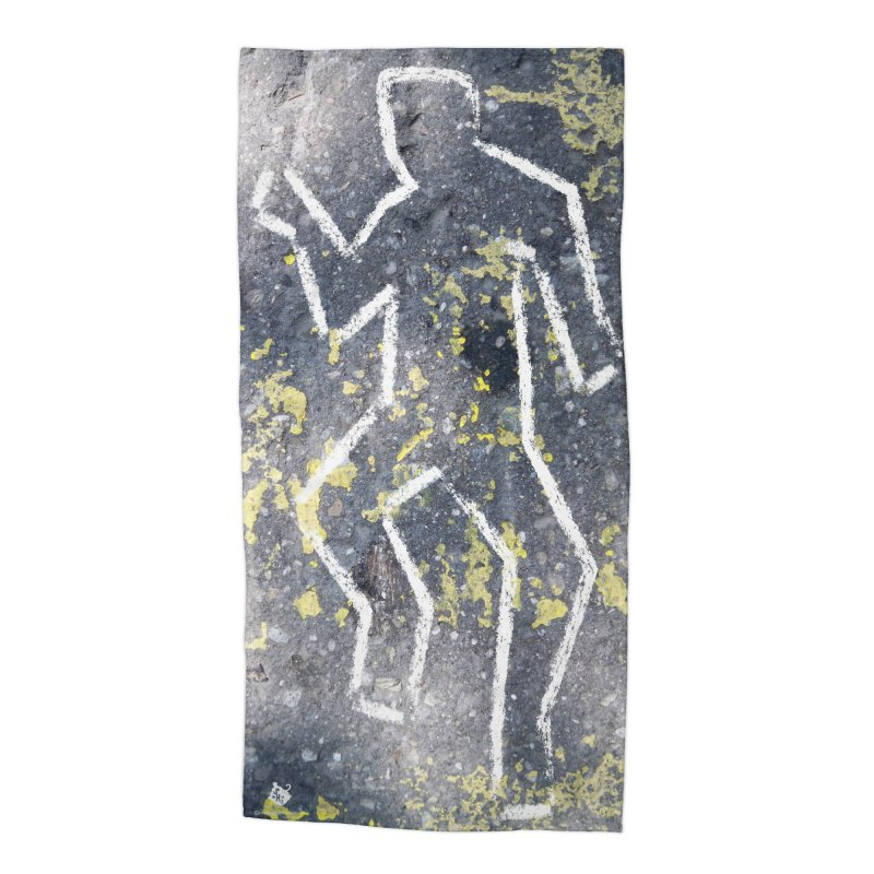 Lucky's Requiem Accessories Beach Towel by Slap Happy Ultd Emporium