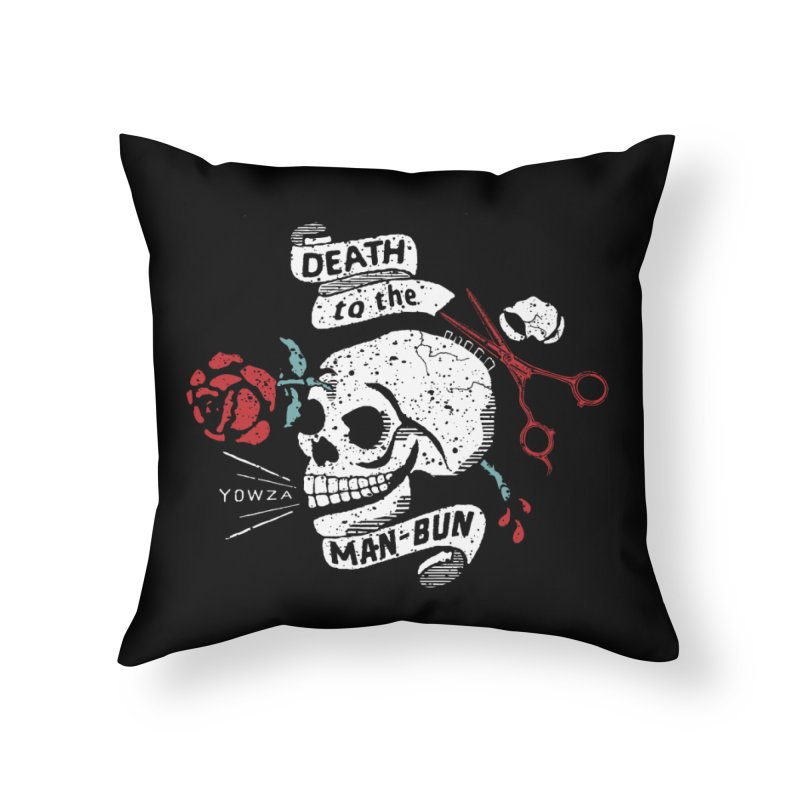 DttMB Home Throw Pillow by Slap Happy Ultd Emporium