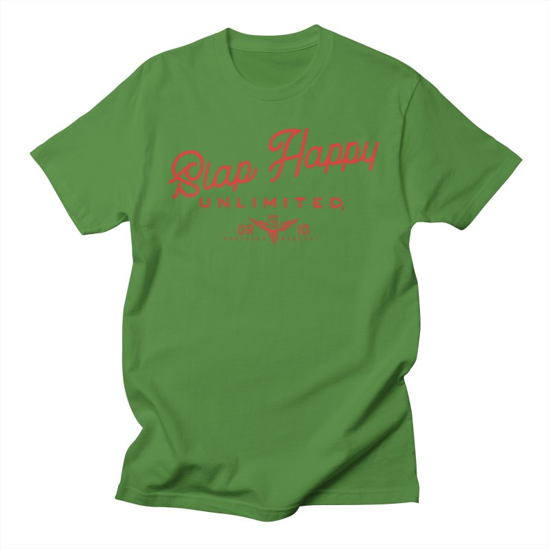 SHU logo Zes Women's Regular Unisex T-Shirt by Slap Happy Ultd Emporium