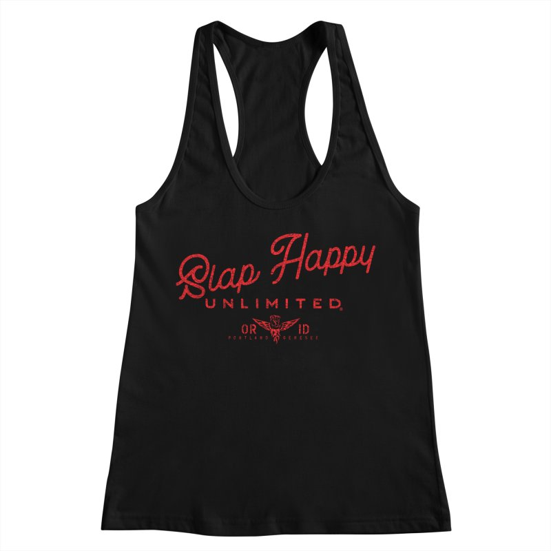 SHU logo Zes Women's Racerback Tank by Slap Happy Ultd Emporium