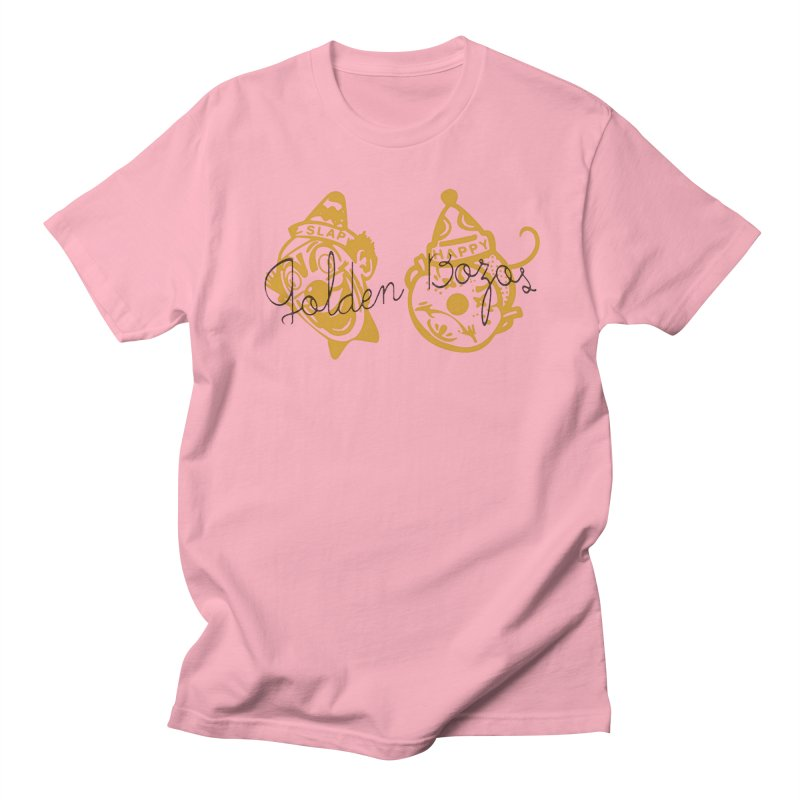Golden Bozoz Women's Regular Unisex T-Shirt by Slap Happy Ultd Emporium