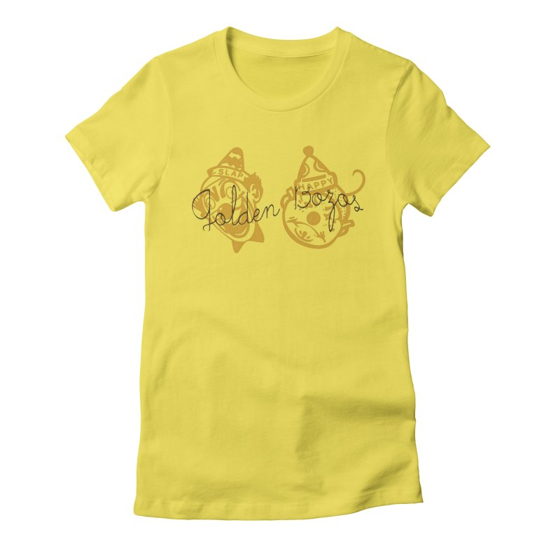 Golden Bozoz Women's T-Shirt by Slap Happy Ultd Emporium