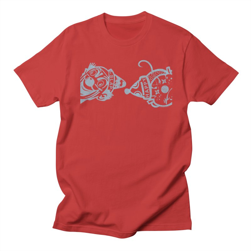 Peek-a-Boo Men's Regular T-Shirt by Slap Happy Ultd Emporium