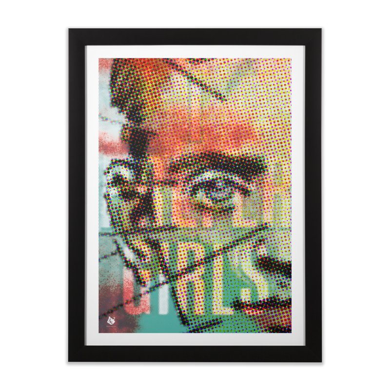 An Eye for the Ladies Home Framed Fine Art Print by Slap Happy Ultd Emporium