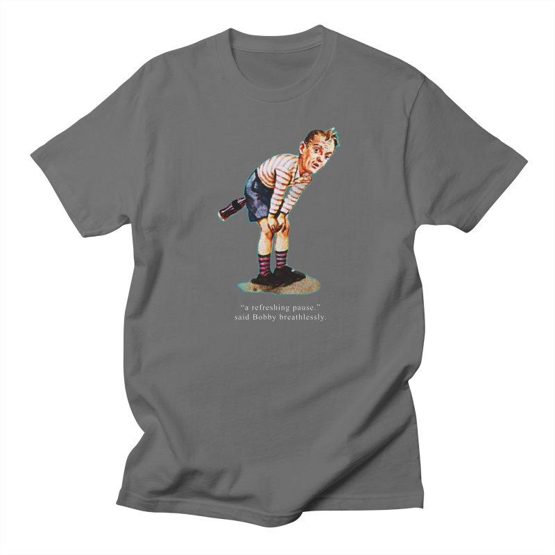 Refreshing Pause Women's Regular Unisex T-Shirt by Slap Happy Ultd Emporium