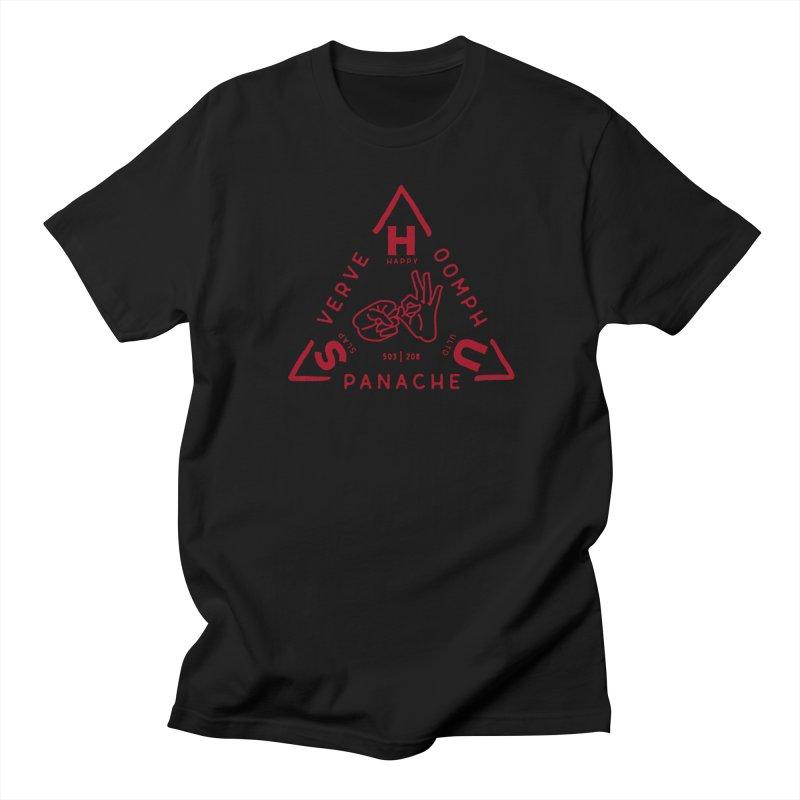 SHU Trifecta Men's Regular T-Shirt by Slap Happy Ultd Emporium