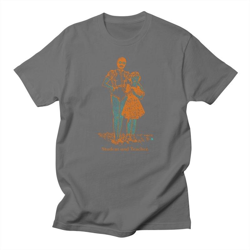 Student und Teacher Men's Regular T-Shirt by Slap Happy Ultd Emporium