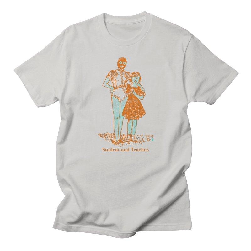Student und Teacher Women's Regular Unisex T-Shirt by Slap Happy Ultd Emporium