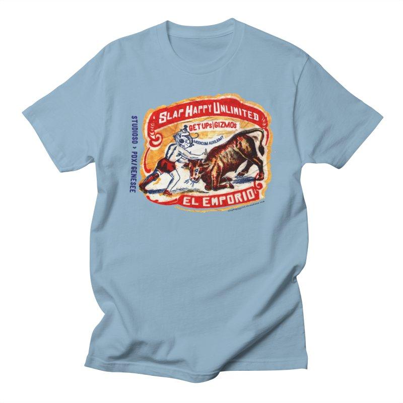 El Emporio Women's Regular Unisex T-Shirt by Slap Happy Ultd Emporium