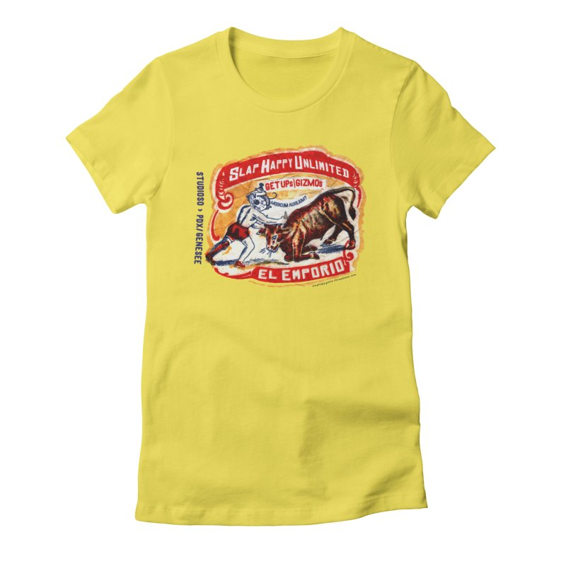 El Emporio Women's T-Shirt by Slap Happy Ultd Emporium