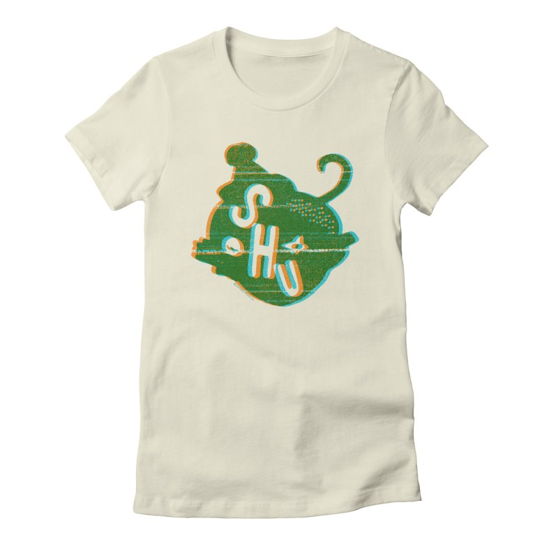 SHUWHAAAA? Women's Fitted T-Shirt by Slap Happy Ultd Emporium