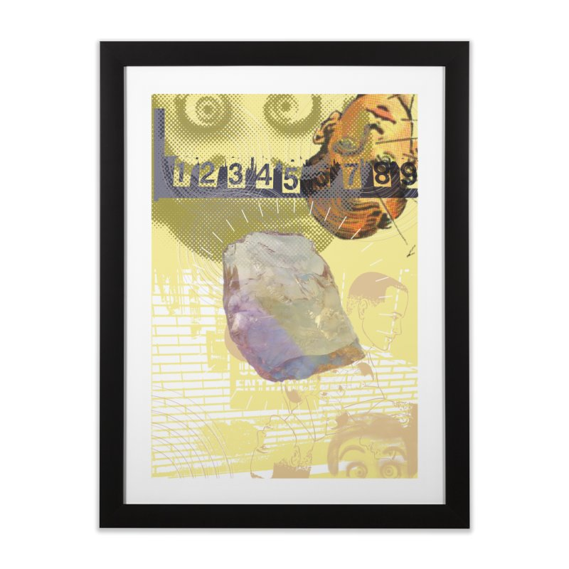 Yerreekah Home Framed Fine Art Print by Slap Happy Ultd Emporium