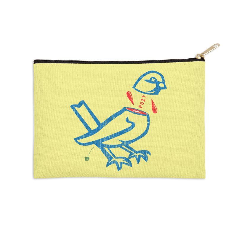 BlüBürd of HaPPynez Accessories Zip Pouch by Slap Happy Ultd Emporium