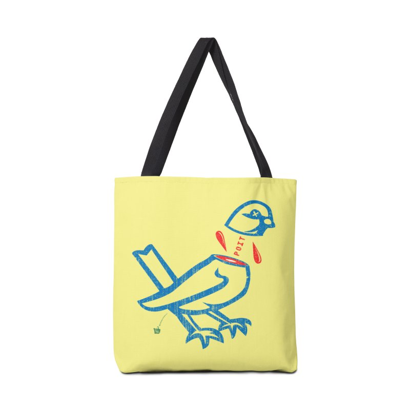 BlüBürd of HaPPynez Accessories Tote Bag Bag by Slap Happy Ultd Emporium