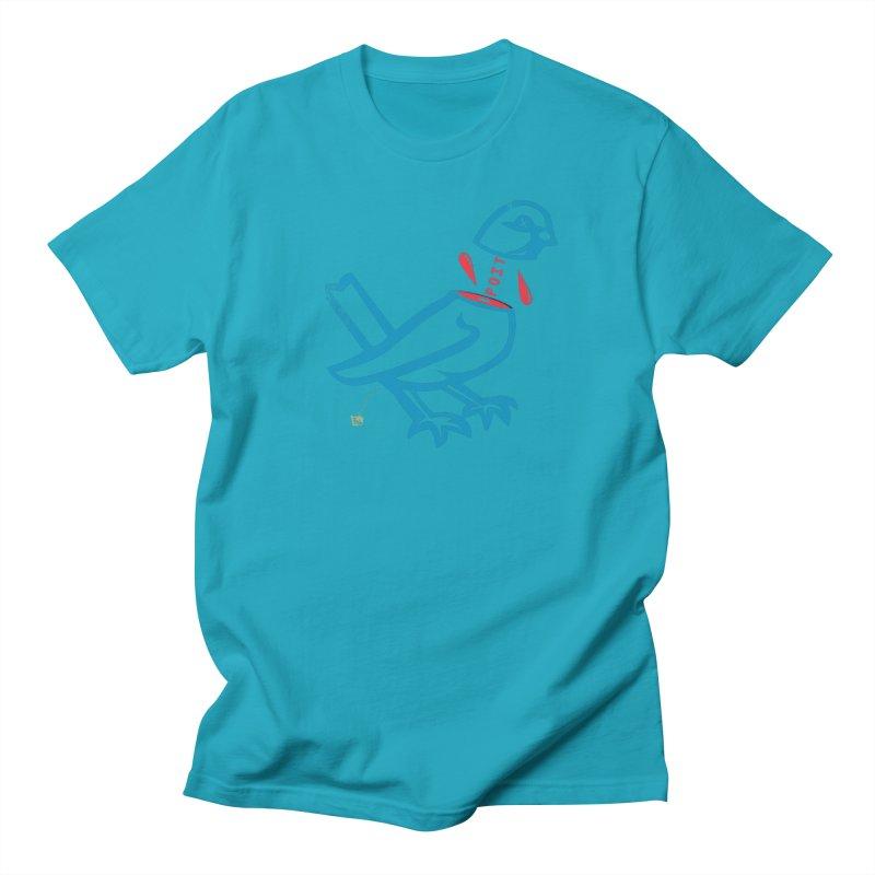 BlüBürd of HaPPynez Women's Regular Unisex T-Shirt by Slap Happy Ultd Emporium