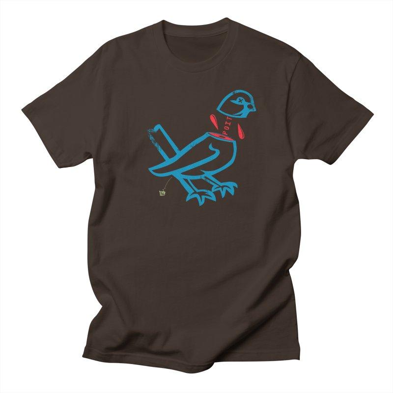 BlüBürd of HaPPynez Men's Regular T-Shirt by Slap Happy Ultd Emporium